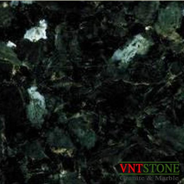 Đá Granite Xà Cừ Xanh Đen