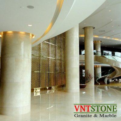 Đá lát nền nhà cao cấp - Lát sàn đá marble Crema Marfil