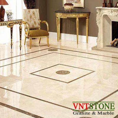 Lát sàn đá marble tự nhiên Crema Marfil