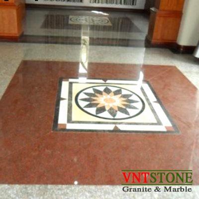 lát sàn đá granite Đỏ Ruby Bình Định