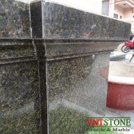 Đá ốp mặt tường granite Xanh Brazil