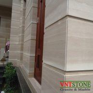 Đá ốp mặt tiền nhà đá marble Vân gỗ Ý