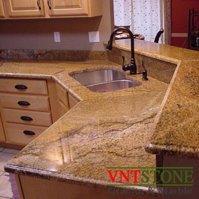 Đá ốp lát - Đá Granite ốp mặt bàn bếp