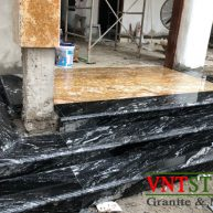 Đá Granite nhập khẩu Black Fantasy