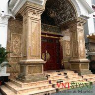 Đá Imperial Gold Ốp Cột